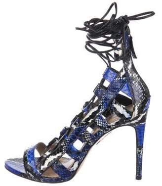 845caafa19bac Aquazzura Amazon Sandal - ShopStyle