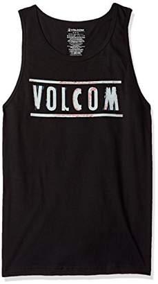 Volcom Men's Double Tank Top Tee