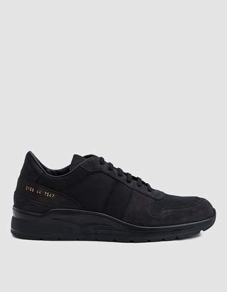 Common Projects New Track Sneaker in Black