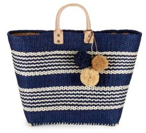 Caracas Textured Open-Top Tote $140 thestylecure.com