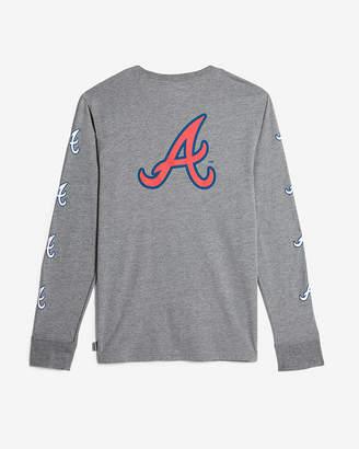 Express Atlanta Braves Long Sleeve Tee