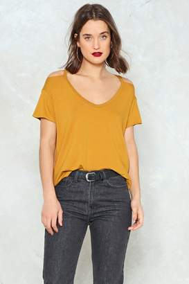 Nasty Gal Mia Cold Shoulder Tee