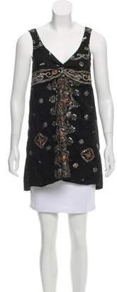 Junya Watanabe Comme des Garçons Embroidered Embellished Top