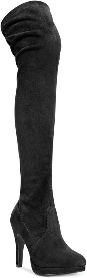 Report Nadya Over-the-Knee Stretch Boots
