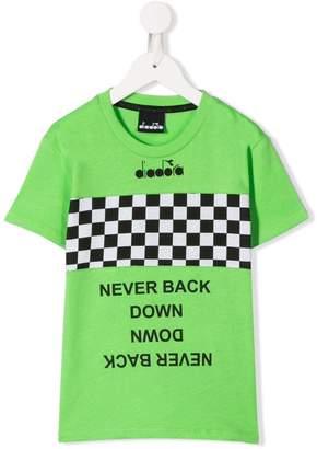 Diadora Junior racing stripe T-shirt