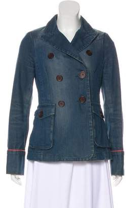 Marc by Marc Jacobs Denim Long Sleeve Jacket