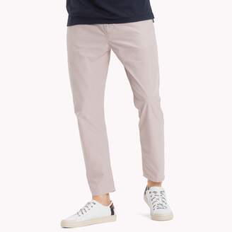 Tommy Hilfiger Textured Twill Cropped Pant
