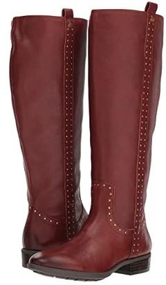 Sam Edelman Prina Wide Calf Leather Tall Boot
