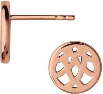 Links of London Timeless 18k Rose Gold Earrings