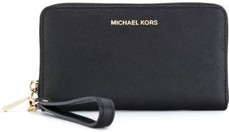 MICHAEL Michael Kors wrist strap zip wallet