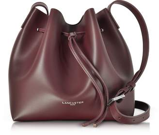 Lancaster Paris Pur Smooth Leather Bucket Bag