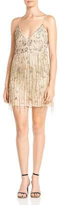 Haute Hippie Taken Embellished Mini Dress