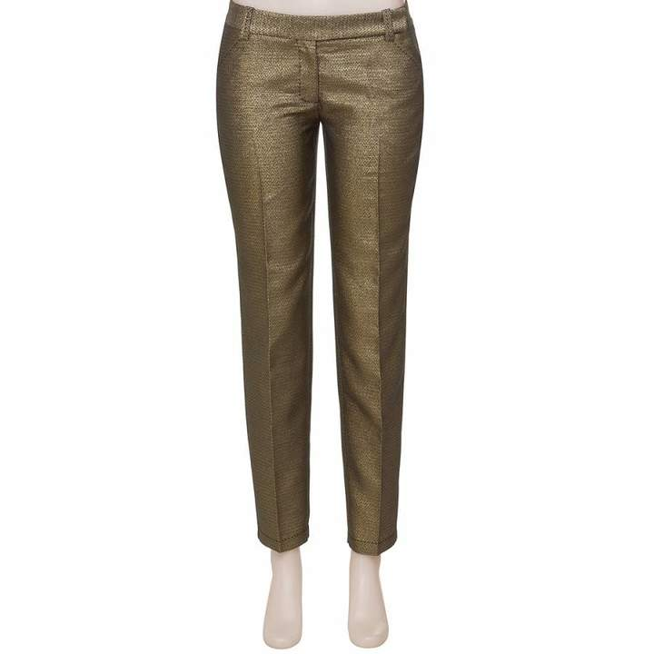 OLD STYLE Gold Slim Trousers