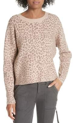 Joie Leopard Print Sweater