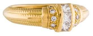 Paul Morelli 18K Diamond Ring
