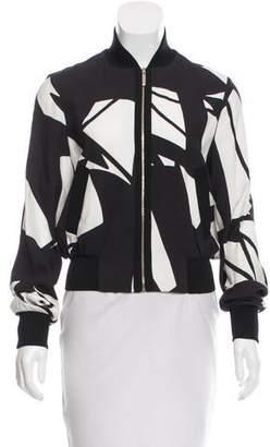 Elie Saab Lightweight Printed Jacket