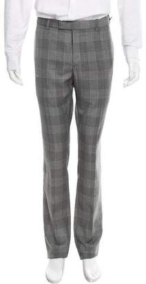 Christian Dior Plaid Wool Pants w/ Tags