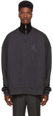 Alexander McQueen Grey Logo Sweatshirt