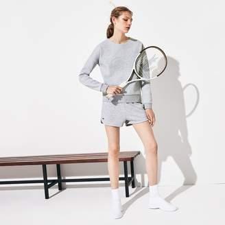 14867509b Lacoste Women's SPORT Tennis Fleece Shorts
