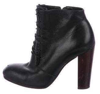 Elizabeth and James Leather Lace-Up Ankle Boots