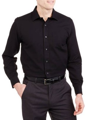 George Black Solid Shirt