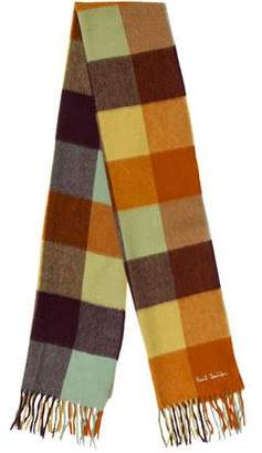 Paul Smith Patterned Cashmere Scarf