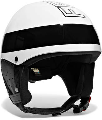 Roma Printed Ski Helmet - White