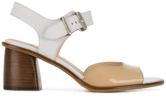 Jil Sander Navy ankle strap sandals