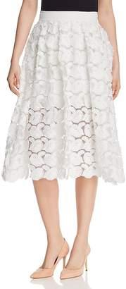Maje Jardin Rosette Appliqué Skirt - 100% Exclusive