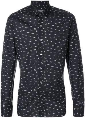 Lanvin animal print shirt