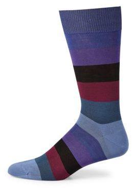 Paul Smith Main Block Dress Socks $30 thestylecure.com