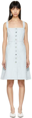 Stella McCartney Blue Denim Dress