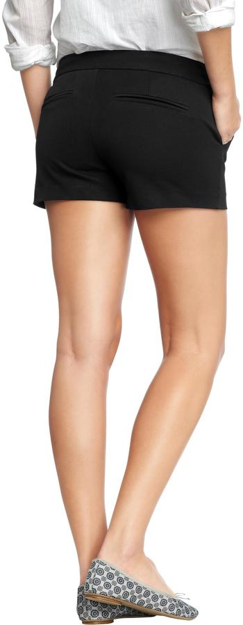 "Old Navy Women's The Pixie Stretch-Twill Shorts (3 1/2"")"
