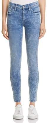 Hudson Nico Mid Rise Super Skinny Jeans in Sapphire Acid