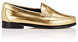 Re/Done + Weejuns Women's Whitney Metallic Leather Penny Loafers