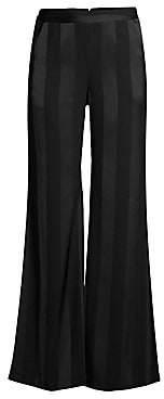 Rebecca Vallance Women's Dolores Striped Wide-Leg Pants