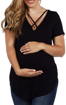 24/7 Comfort Apparel City Loft Maternity Tunic Top