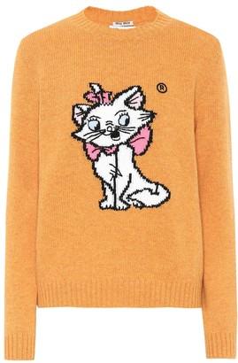 2a63a3fca Miu Miu x Disney intarsia wool sweater