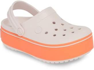 43758d3da170c2 Crocs TM) Crocband Platform Clog