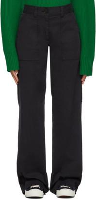 YMC Black Workwear Trousers