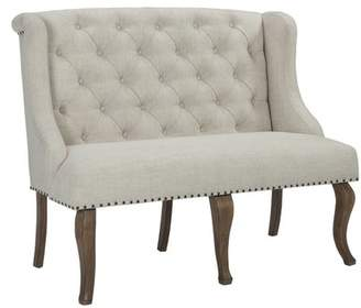 SCTL Upholstered Bench with Arm