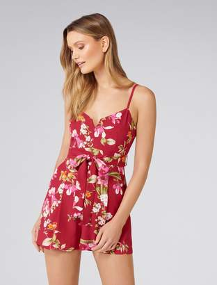 Forever New Tiana Petite Playsuit - Sweet Blossom - 4