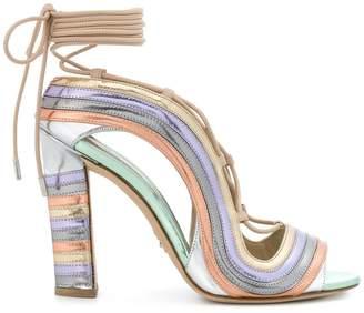 Paula Cademartori Crazy Stripes Metallic Rainbow