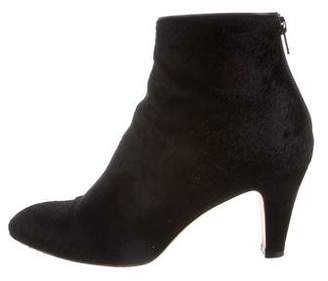 Brian Atwood Ponyhair Ankle Boots