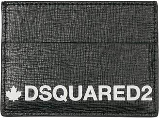 DSQUARED2 Genuine Leather Credit Card Case Holder Wallet
