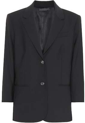 The Row Schoolboy stretch wool blazer