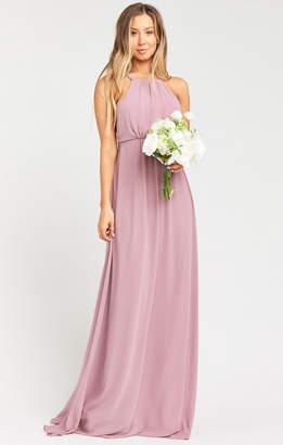 Show Me Your Mumu Amanda Maxi Dress ~ Antique Rose Chiffon