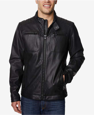 Buffalo David Bitton Men Faux-Leather Jacket