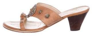 Giuseppe Zanotti Embellished Slide Sandals
