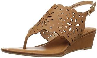 XOXO Women's Frazer Wedge Sandal
